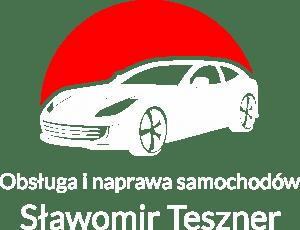 Sławomir Teszner - logo białe
